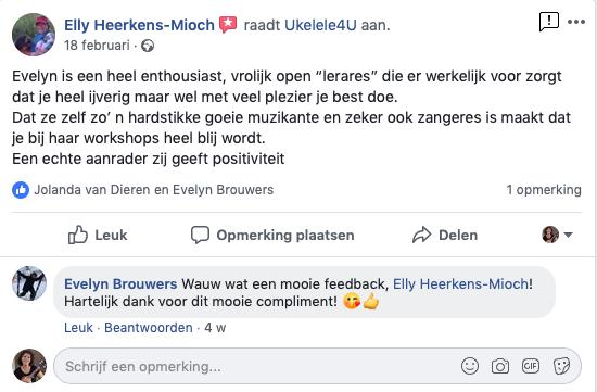 Facebook recensie