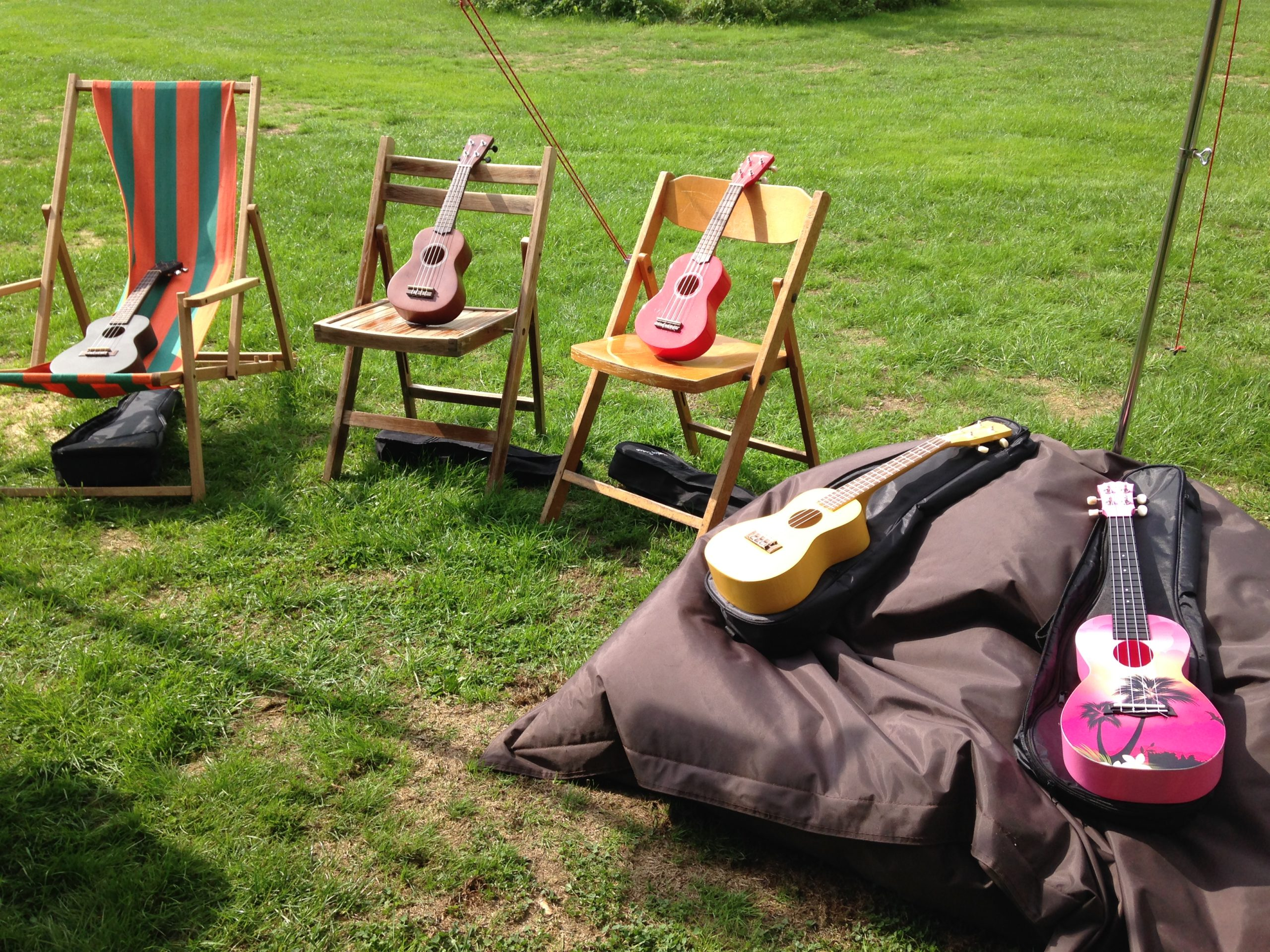 Ukelele workshop buiten - Ukelele4U