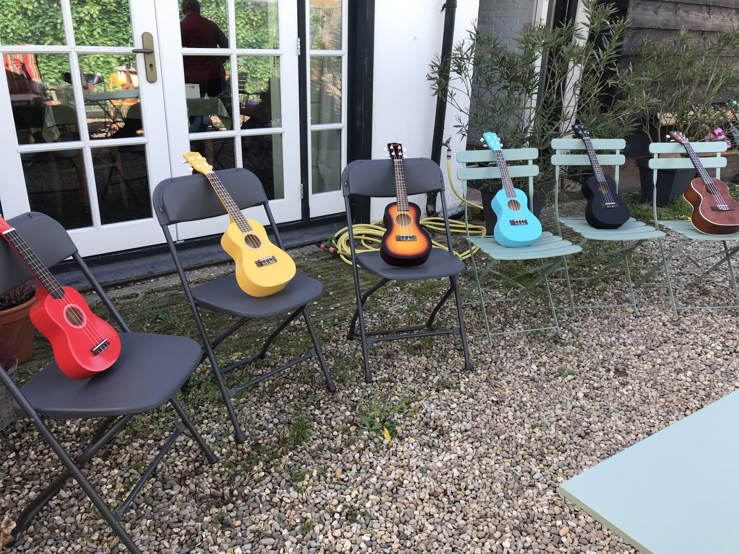 Ukelele Workshop buiten Ukelele4U